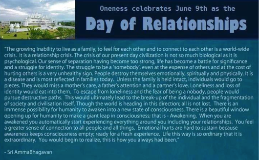 Oneness relationships